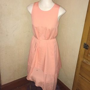 The Limited brand peach color dress